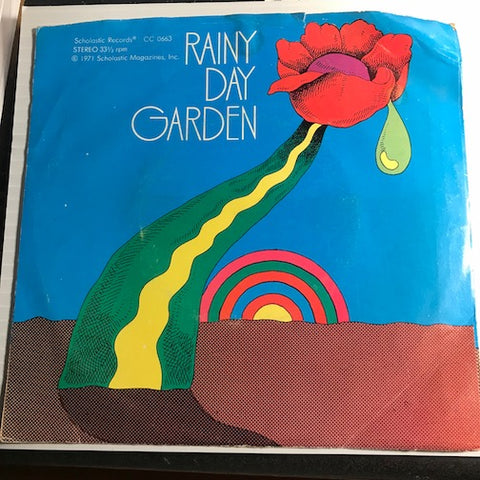 44th Street Portable Flower Factory - Rainy Day Garden EP - Who'll Stop The Rain - Yesterday b/w The Letter - Whose Garden Was This - Scholastic #0663 - Psych Rock