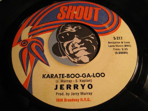 JerryO - The Pearl b/w Karate-Boo-Ga-Loo - Shout #217 - Northern Soul