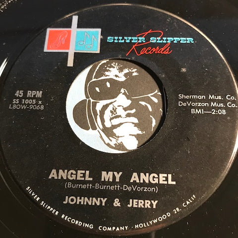 Johnny & Jerry - Angel My Angel b/w Memories - Silver Slipper #1005 - Teen - Rock n Roll