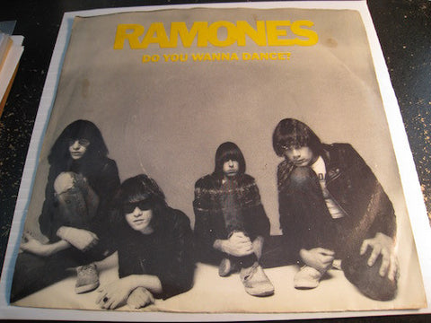 Ramones - Do You Wanna Dance b/w Babysitter - Sire #1017 - Punk