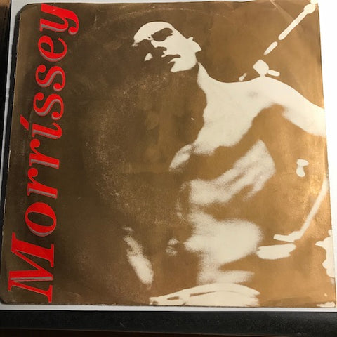 Morrissey - Suedehead b/w I Know Very Well How I Got My Name - Sire #27907 - 80's
