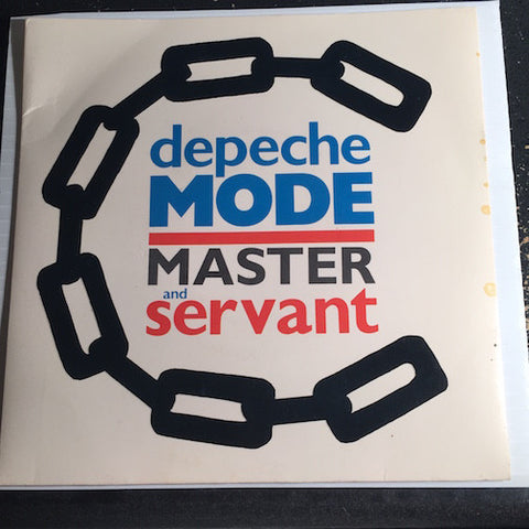 Depeche Mode - Master and Servant b/w (Set Me Free) Remotivate Me - Sire #28918 - 80's
