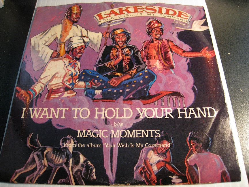Lakeside - Magic Moments b/w I Want To Hold Your Hand - Solar #47954 - picture sleeve - Funk