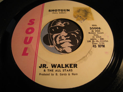 Jr Walker & All Stars - Shotgun b/w Hot Cha - Soul #35008 - Motown