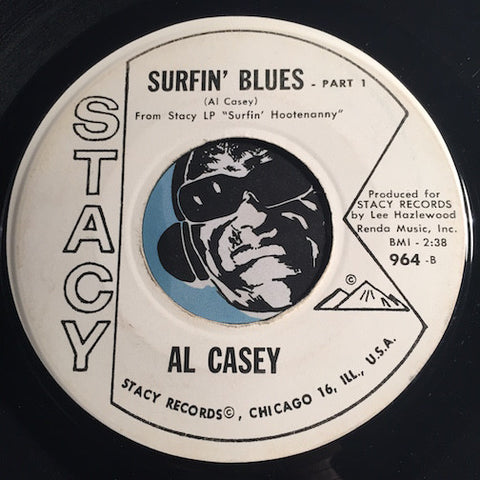 Al Casey - Surfin Blues b/w Guitars Guitars Guitars - Stacy #964 - Surf