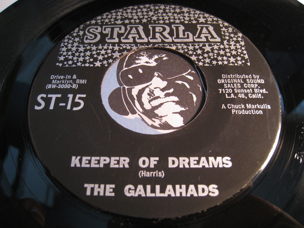 Gallahads - Keeper Of Dreams b/w Sad Girl - Starla #15 - Doowop