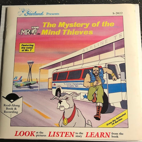 Mr T - Read Along Book - The Mystery Of The Mind Thieves pt.1 b/w pt.2 - Starland #2022 - Children's