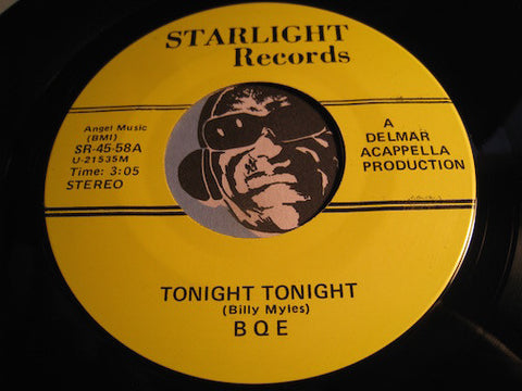 BQE - Tonight Tonight b/w Zing Went The Strings (reissue) - Starlight #58 - Doowop