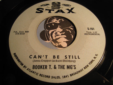 Booker T & M.G.'s - Can't Be Still b/w Terrible Thing - Stax #161 - R&B Mod