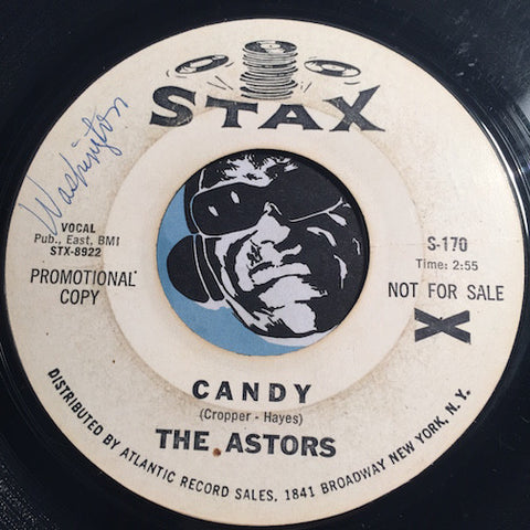 Astors - Candy b/w I Found Out - Stax #170 - Northern Soul