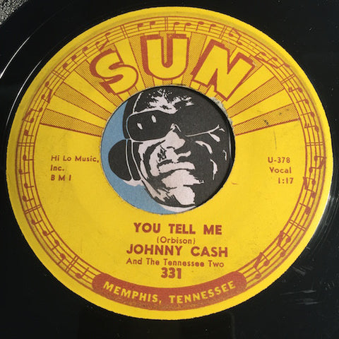 Johnny Cash - You Tell Me b/w Goodby Little Darlin - Sun #331 - Country