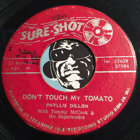 Phyllis Dillon - Don't Touch My Tomato b/w I Wear His Ring - Sure Shot #188 - Reggae