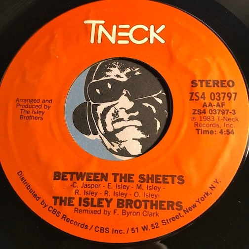 Isley Brothers - Between The Sheets b/w instrumental - TNeck #03797 - Funk