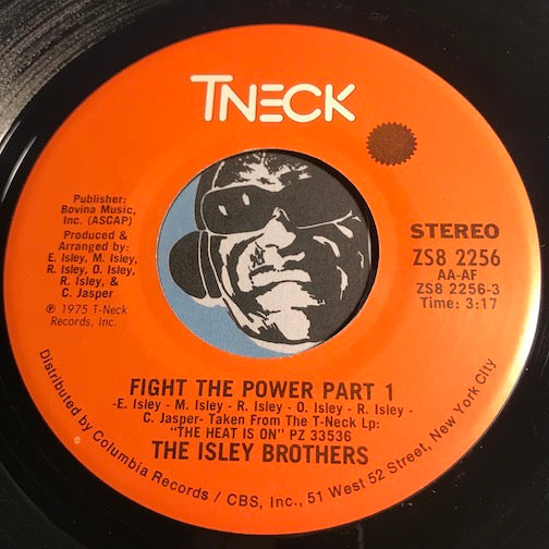 Isley Brothers - Fight The Power pt. 1 b/w pt.2 - TNeck #2256 - Funk