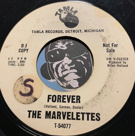 Marvelettes - Forever b/w Locking Up My Heart - Tamla #54077 - Motown - Northern Soul