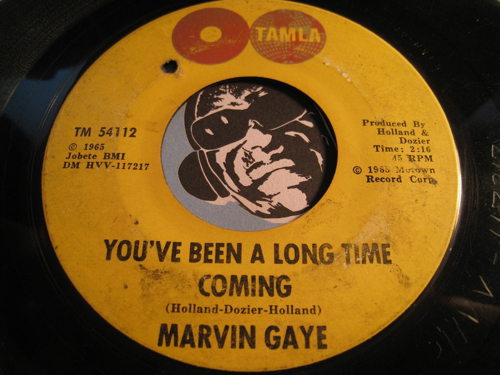 Marvin Gaye - I'll Be Doggone b/w You've Been A Long Time Coming - Tamla #54112 - Motown