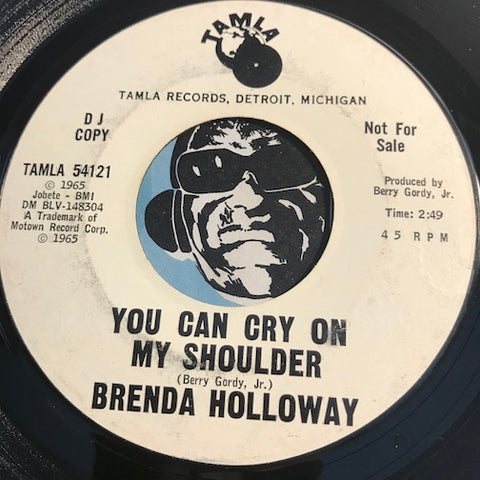 Brenda Holloway - How Many Times Did You Mean It b/w You Can Cry On My Shoulder - Tamla #54121 - Northern Soul - Motown
