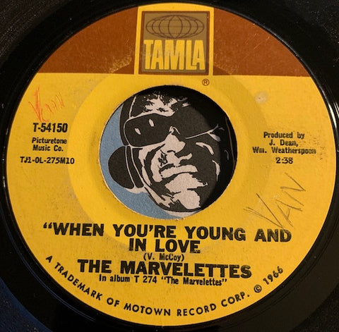 Marvelettes - The Day You Take One You Have To Take the Other b/w When You're Young And In Love - Tamla #54150 - Motown - Northern Soul