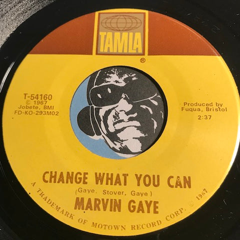 Marvin Gaye - Change What You Can b/w You - Tamla #54160 - Motown