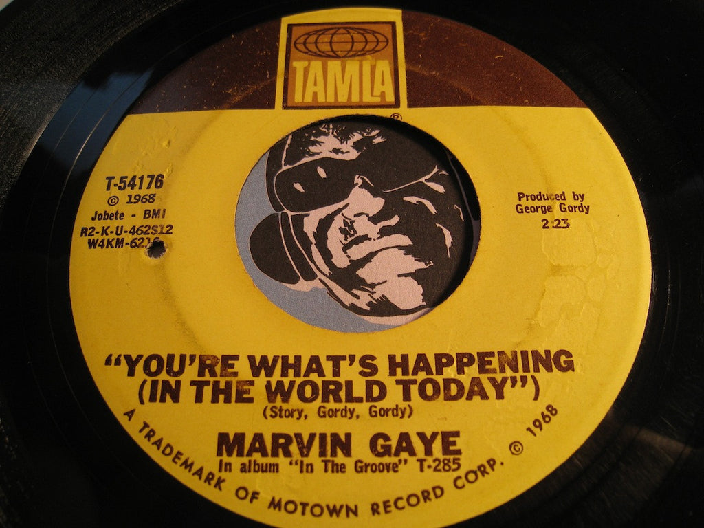 Marvin Gaye - I Heard It Through The Grapevine b/w You're What's Happening (In The World Today) - Tamla #54176 - Motown