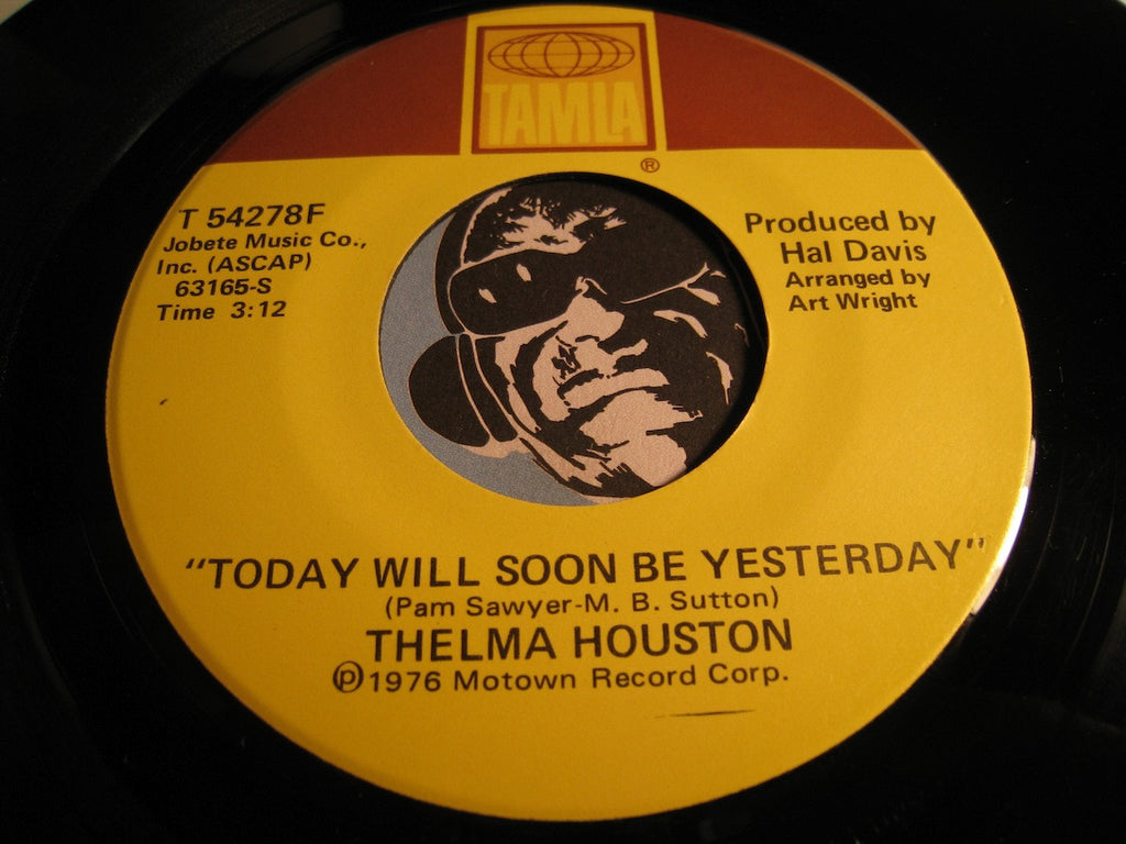 Thelma Houston - Don't Leave Me This Way (short version) b/w Today Will Soon Be Yesterday - Tamla #54278 - Funk Disco