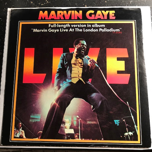 Marvin Gaye - Got To Give It Up pt.1 b/w pt.2 - Tamla #54280 - Motown - Funk