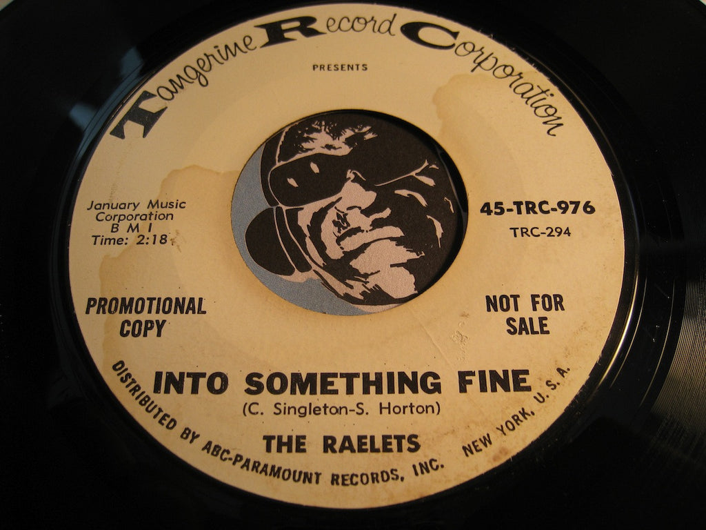 Raelets - Into Something Fine b/w A Lover's Blues - Tangerine (TRC) #976 - R&B Soul