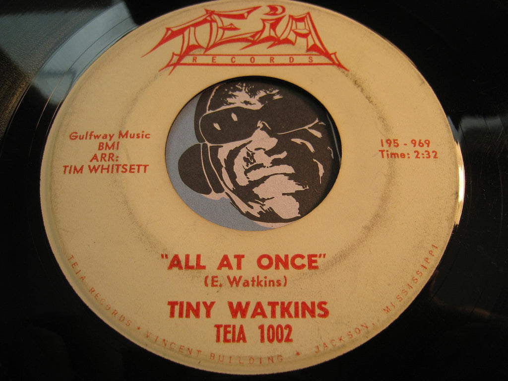 Tiny Watkins - Torturing Lover b/w All At Once - Teia #1002 - R&B