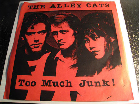 Alley Cats - Too Much Junk b/w Night Along The Blvd - Time Coast #22 - Punk