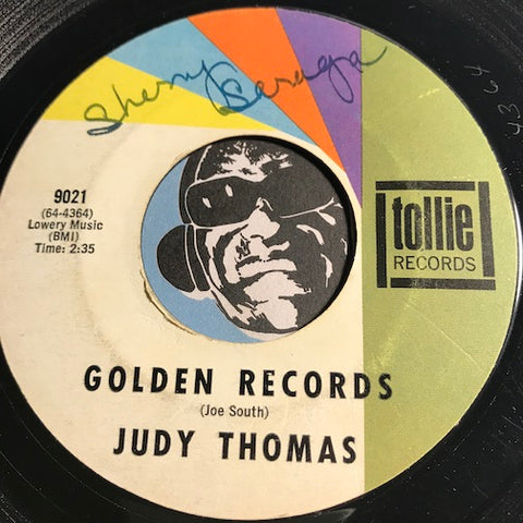 Judy Thomas - Golden Records b/w Don't Feel Like The Lone Ranger - Tollie #9021 - Teen