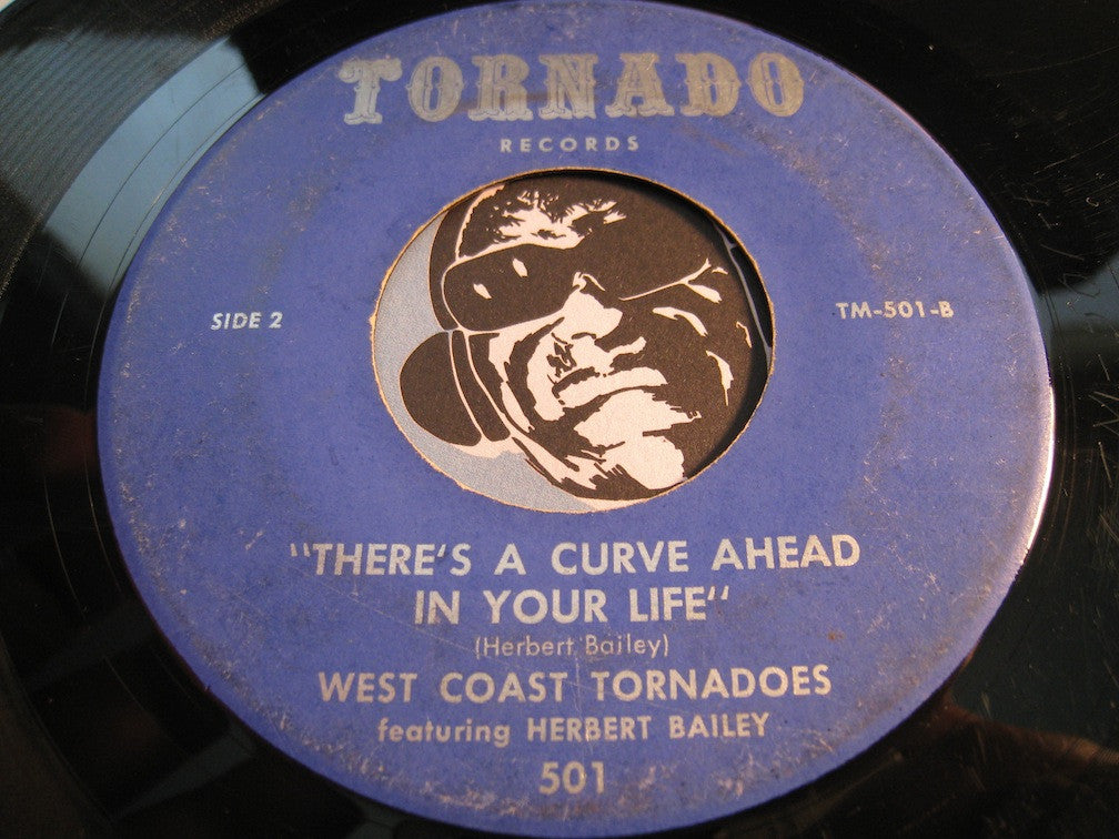 West Coast Tornadoes - Family Prayer b/w There's A Curve Ahead In Your Life - Tornado #501 - Gospel Soul