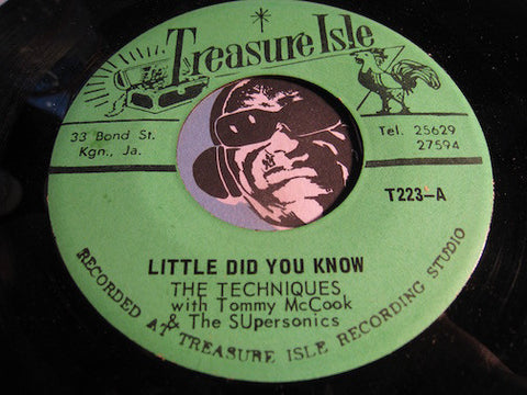 Techniques - Little Did You Know b/w Write Her A Letter (John Holt) - Treasure Isle #223 - Reggae
