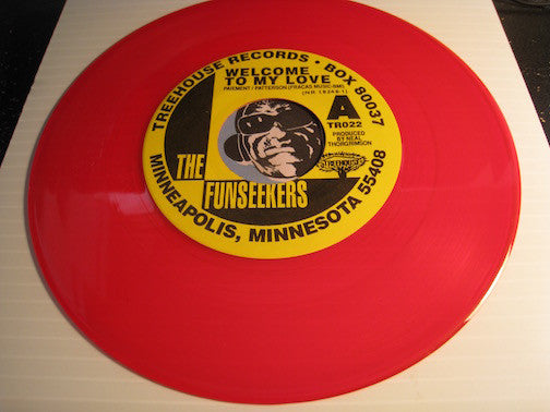 Funseekers - Welcome To My Love b/w Psycho Daisies - Treehouse #002 - Garage Rock