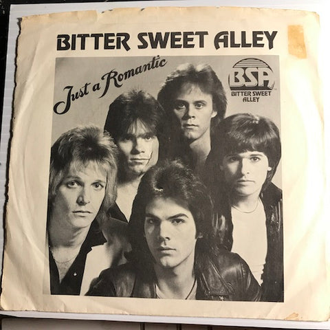 Bitter Sweet Alley - Just A Romantic b/w Dead And Gone - Trillium #1002 - Punk