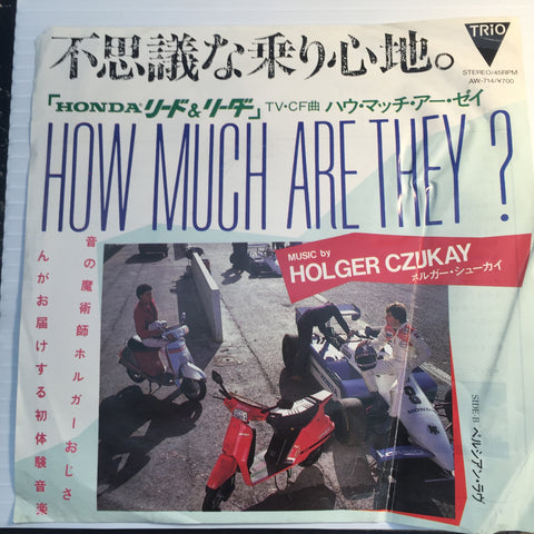 Holger Czukay - How Much Are They b/w Persian Love - Trio #714 - Punk