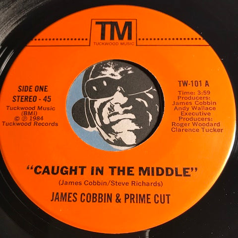 James Cobbin & Prime Cut - Caught In The Middle b/w It's Music - Tuckwood Music #101 - Modern Soul - Funk Disco