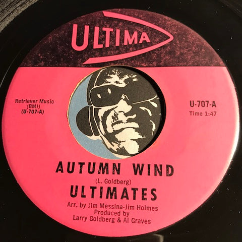 Ultimates - Autumn Wind b/w Aprils Theme - Ultima #707 - Surf