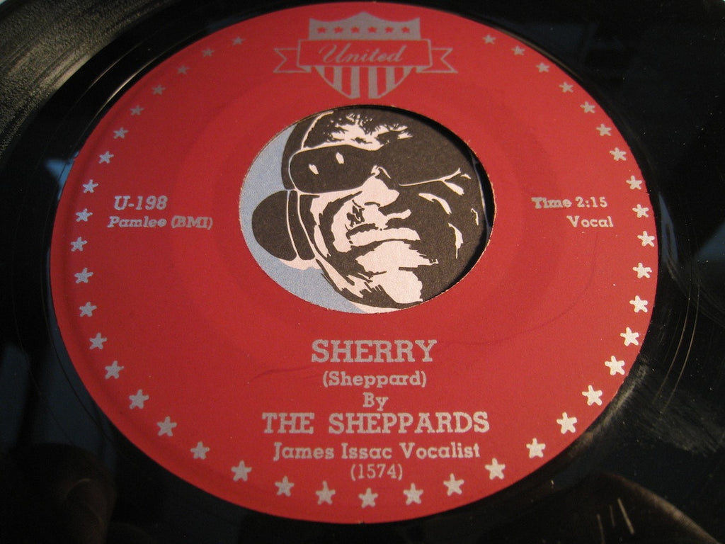 Sheppards - Sherry b/w Mozelle - United #198 - Doowop