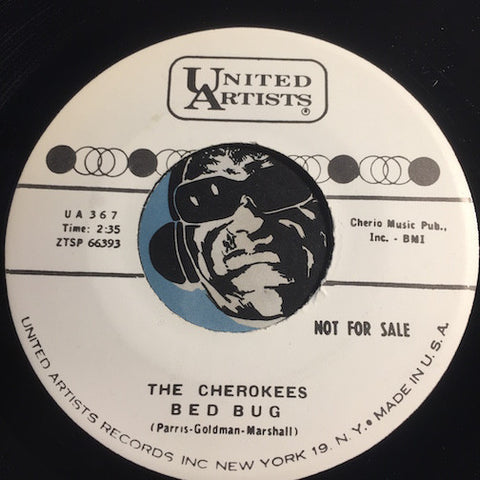 Cherokees - Bed Bug b/w My Heavenly Angel - United Artists #367 - Doowop Reissues - FREE (one per customer please)