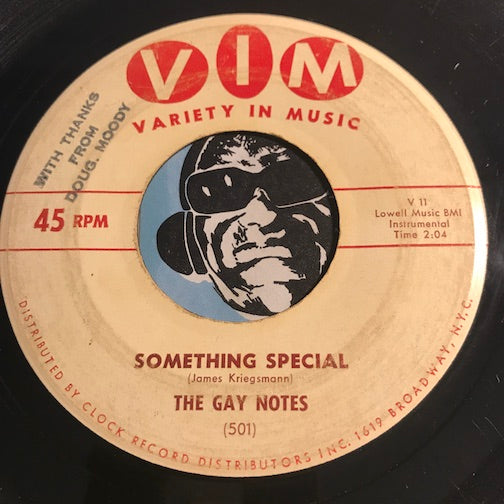 Gay Notes - Something Special b/w Cherie - VIM #501 - Rock n Roll