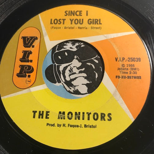 Monitors - Since I Lost You Girl b/w Don't Put Off Til Tomorrow What You Can Do Today - VIP #25039 - Motown - Northern Soul