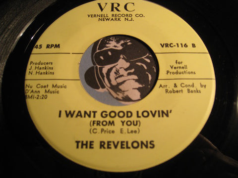 Revelons - I Fell In Love (With The Wrong Guy) b/w I Want Good Lovin (From You) - VRC #116 - Soul