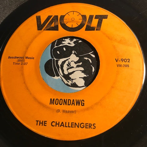 Challengers - Moondawg b/w Tidal Wave - Vault #902 - Surf