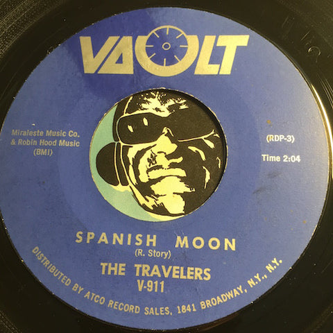 Travelers - Spanish Moon b/w She's Got The Blues - Vault #911 - Surf