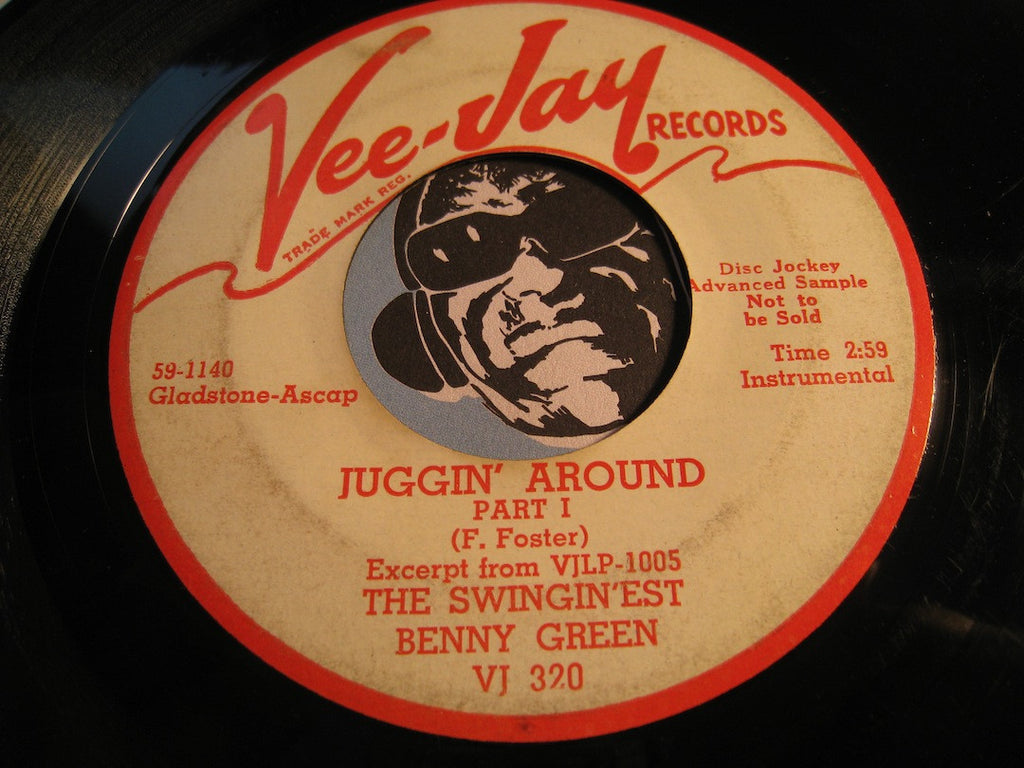 Benny Green - Juggin Around pt.1 b/w pt.2 - Vee Jay #320 - Jazz