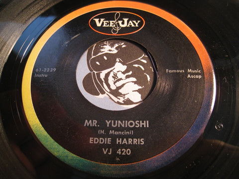 Eddie Harris - Moon River b/w Mr. Yunioshi - Vee Jay #420 - Jazz