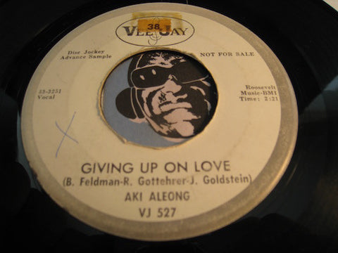 Aki Aleong - Giving Up On Love b/w Love Is Funny - Vee Jay #527 - Northern Soul