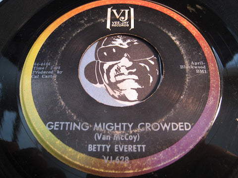 Betty Everett - Getting Mighty Crowded b/w Chained To A Memory - Vee Jay #628 - Northern Soul