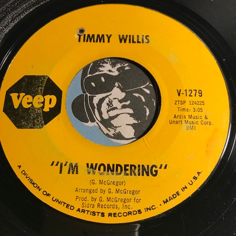Timmy Willis - I'm Wondering b/w Mr. Soul Satisfaction - Veep #1279 - Northern Soul