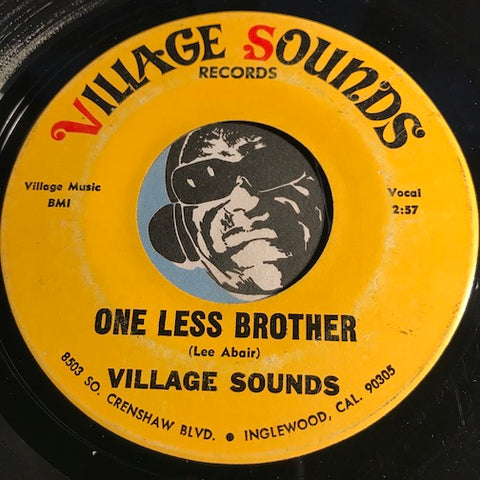 Village Sounds - One Less Brother b/w Village Sound - Village Sounds #8503 - Funk